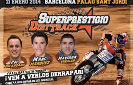 "Мотогонки ""Dirt Track Superprestigio"" в Барселоне"
